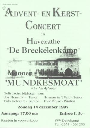 Advent en Kerstconcert Mundkesmoat